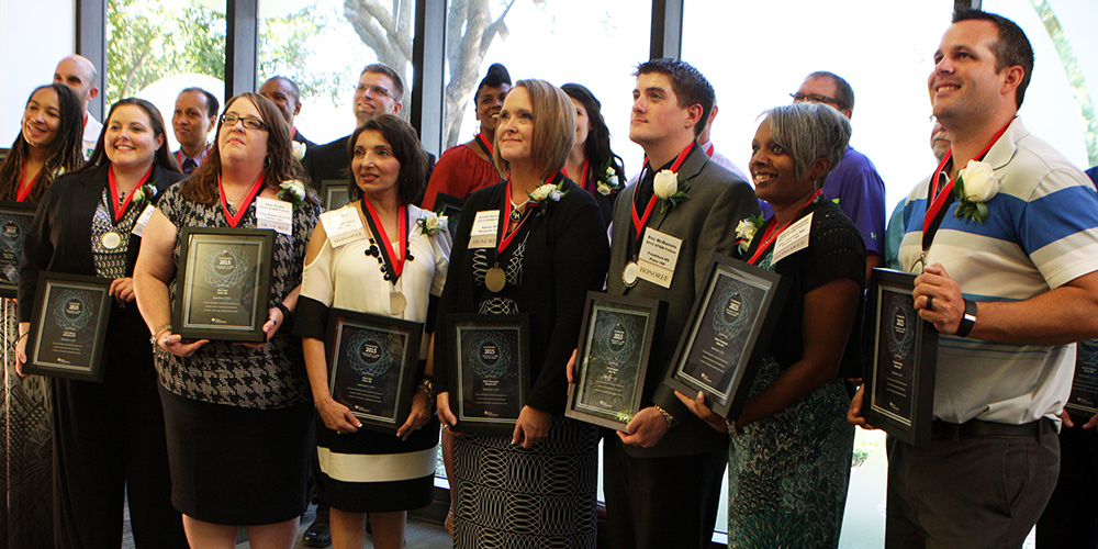 2015 Texas Instruments Foundation Innovations in STEM Teaching Award Winners