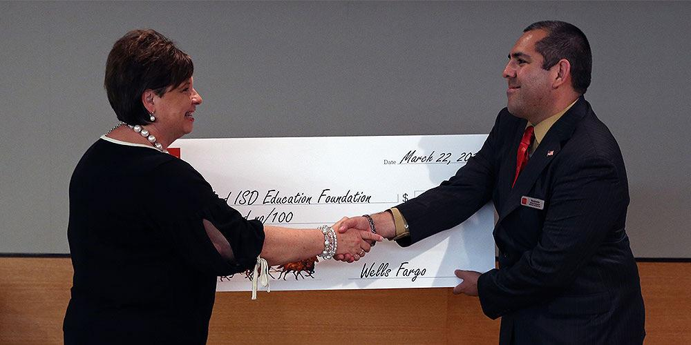 Wells Fargo donates to Garland Education Foundation