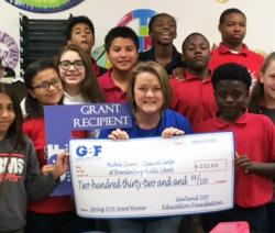 2016 Education Foundation Grant Winner from Brandenburg middle school.