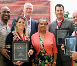 2016 Texas Instruments Foundation Innovations in STEM Teaching Award Winners