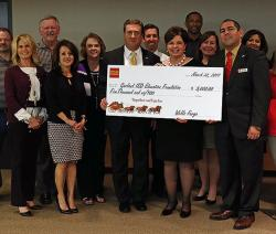 GISD Education Foundation Board receives Wells Fargo donation